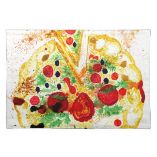 Tasty Pizza Placemat