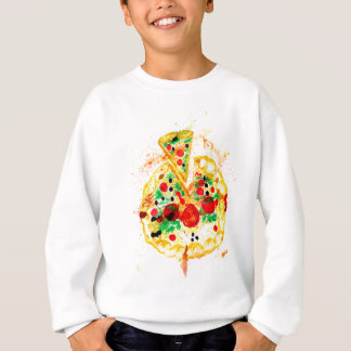 Tasty Pizza Sweatshirt