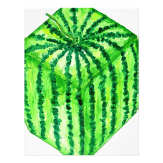 Tasty Watermelon Art2 Custom Letterhead