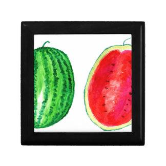 Tasty Watermelon Art Trinket Box