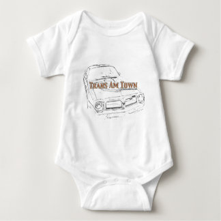 TAT 76' T/A LE Logo for the kids! Baby Bodysuit