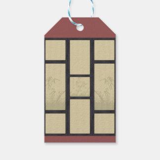 Tatami - bamboo pack of gift tags