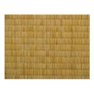 Tatami Mat 畳 Postcard