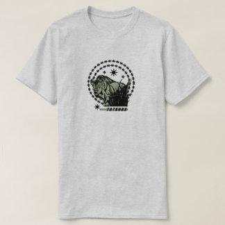 Tatanka Sun-American Buffalo/Bison Green T-Shirt