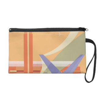 Tate Gallery and Millennium Bridge Wristlet Clutches