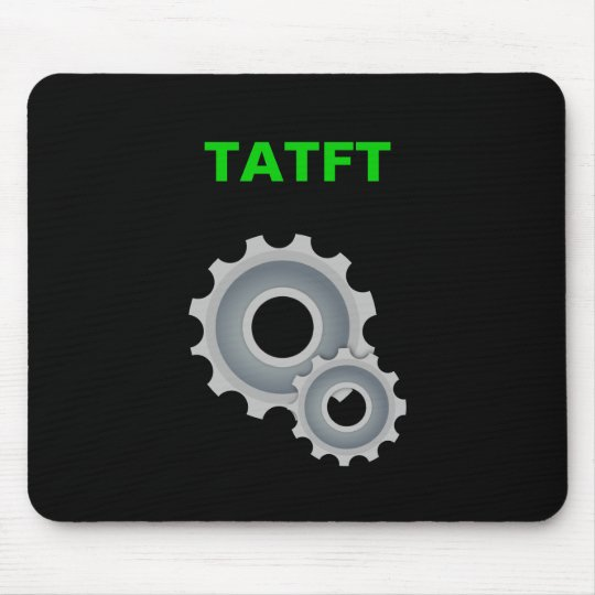 TATFT (gears) Mouse Pad