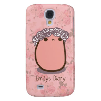 Tato flower crown samsung galaxy s4 cover
