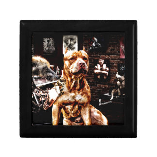 Tatoo dog gift box