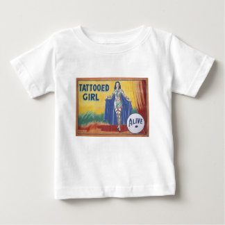 Tatooed Girl Baby T-Shirt