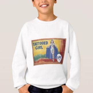 Tatooed Girl Sweatshirt