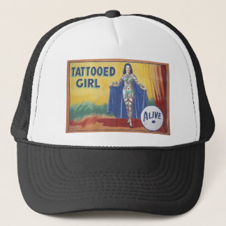 Tatooed Girl Trucker Hat