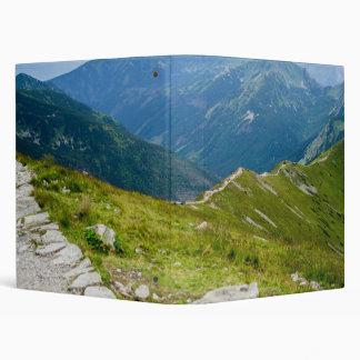 Tatra Mountains Ridge Landscape Photo 3 Ring Binder