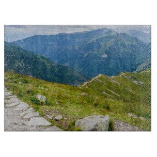 Tatra Mountains Ridge Landscape Photo Cutting Board
