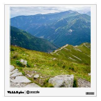 Tatra Mountains Ridge Landscape Photo Wall Sticker