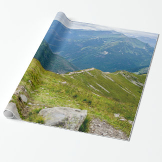 Tatra Mountains Ridge Landscape Photo Wrapping Paper