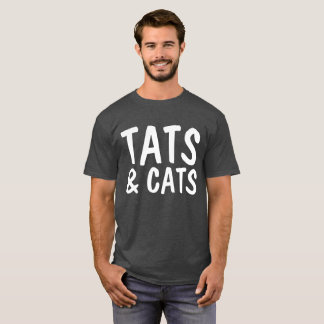 TATS AND CATS, TATTOO LOVER Cat T-shirts
