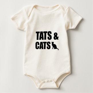Tats & Cats Baby Bodysuit