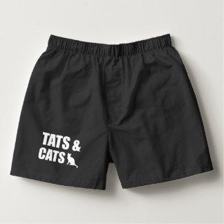 Tats & Cats Boxers