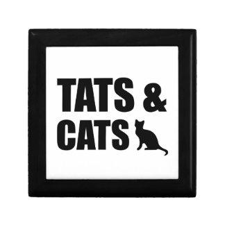 Tats & Cats Jewelry Box