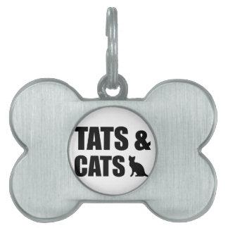 Tats & Cats Pet Tag