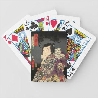 """Tatted Samurai"" Bicycle Playing Cards"