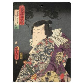 Tatted Samurai Clipboards
