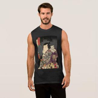 Tatted Samurai Sleeveless Shirt