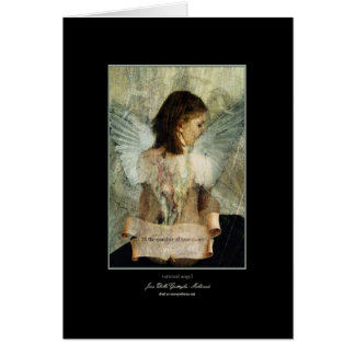 tattered angel card
