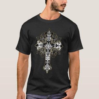 Tattoed Cross T-Shirt