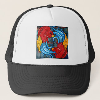 Tattoo Birds Trucker Hat