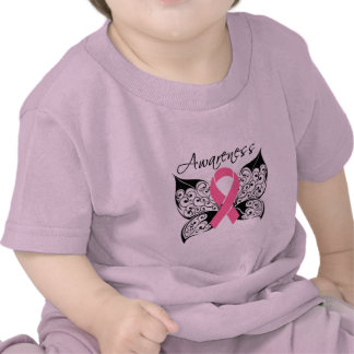 Tattoo Butterfly Awareness - Breast Cancer Shirts