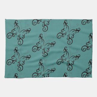 TATTOO DESIGN KITCHEN TOWEL ART PRINT
