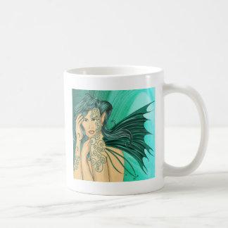 Tattoo faery classic white coffee mug