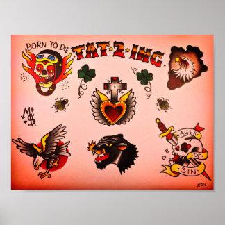 Tattoo Flash poster