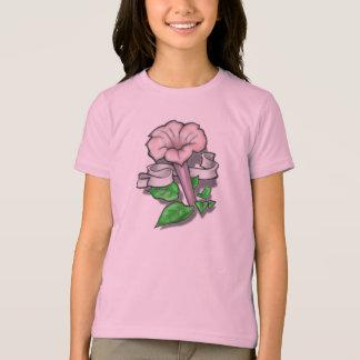 Tattoo Flower with Ribbon T-Shirt
