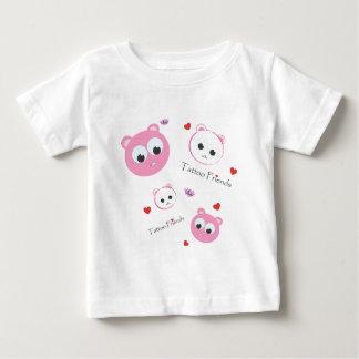 tattoo friends pink t shirt