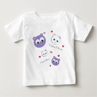 Tattoo Friends purple Baby T-Shirt