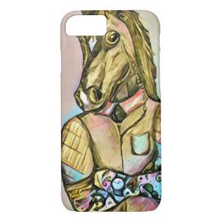 Tattoo gentleman horse iPhone 7 case