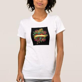 tattoo heart t-shirts