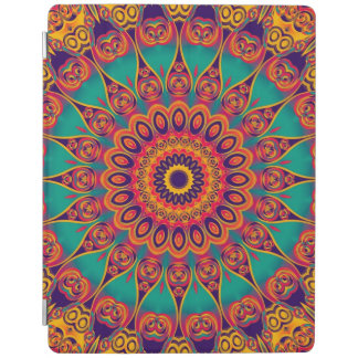 Tattoo Kaleidoscope Fractal II iPad Cover