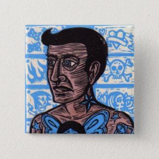 Tattoo Man Button