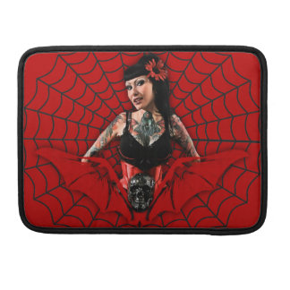 Tattoo Pin Up MacBook Pro Sleeves
