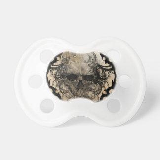 tattoo skull pacifier