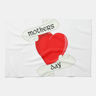 Tattoo Style Mothers Day Kitchen Towels