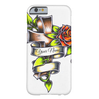 Tattoo Style Rosey Cross - Iphone 6/6s Case