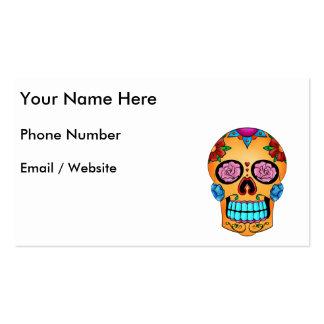 Tattoo Sugar Skull Pack Of Standard Business Cards