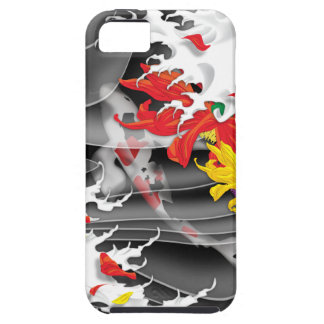 Tattoo- Traditional Japanese Design iPhone 4 Case