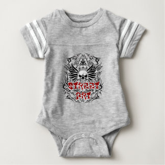Tattoo tribal street art baby bodysuit