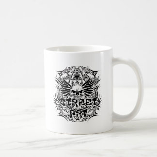 Tattoo tribal street art coffee mug