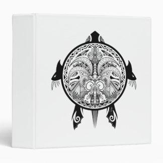 Tattoo Tribal Turtle Vinyl Binders
